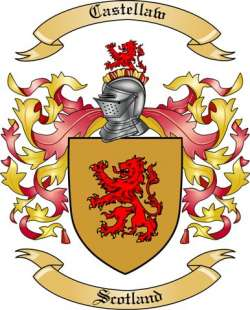 Castellaw Family Crest