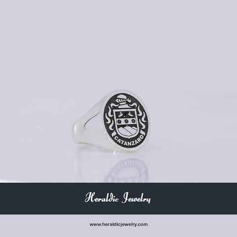 Catanzaro family crest ring