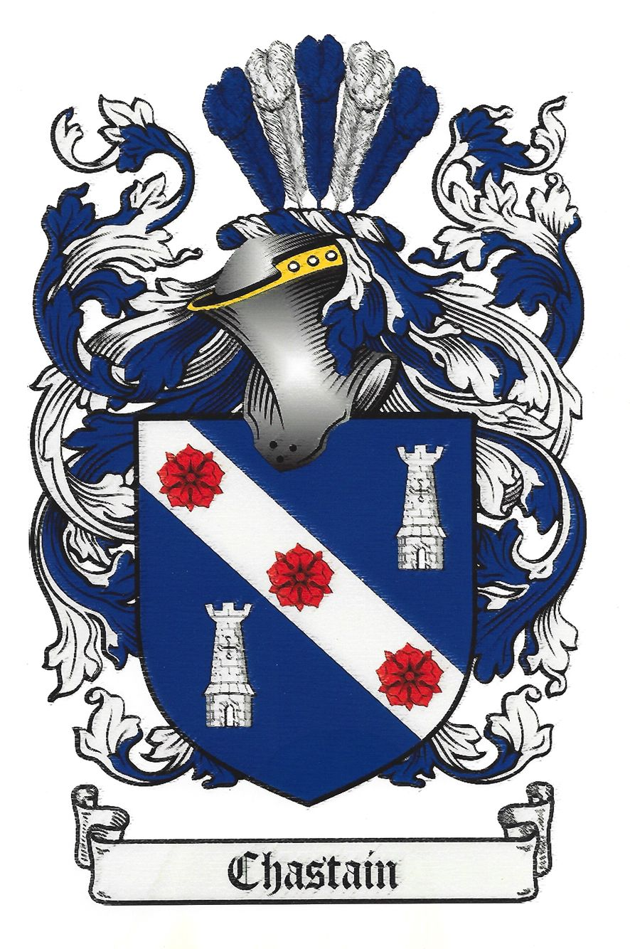 Chastain family crest