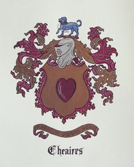 Cheaires family crest