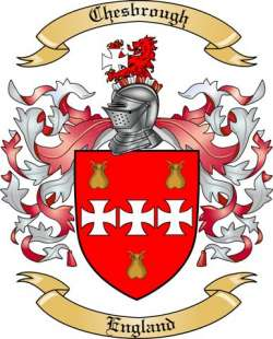 Chesbrough family crest