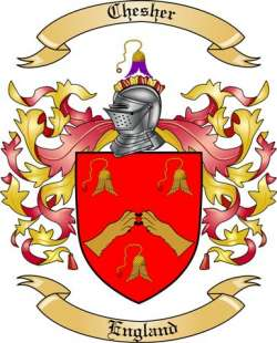 Chesher family crest