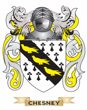 Chesney family crest
