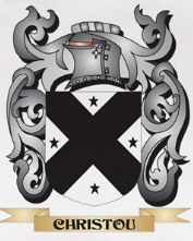 Christou family crest