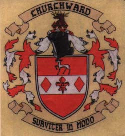 Churchward family crest