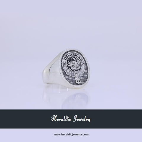 Campbell clan crest ring