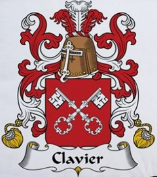 Clavier family crest