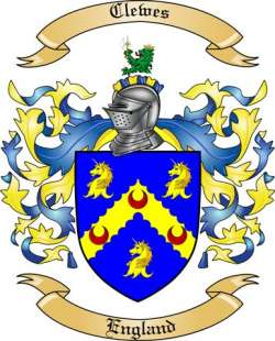 Clewes Family Crest