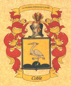 Cole family crest