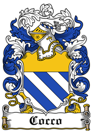 Cocco family crest