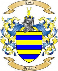 Coile family crest