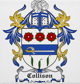 Collison family crest