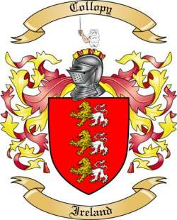Collopy family crest