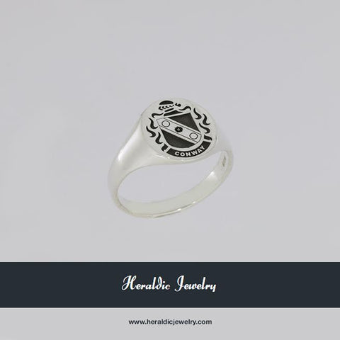 Conway family crest ring