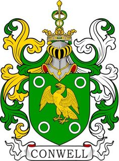Conwel family crest