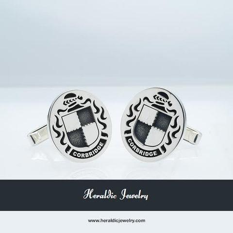 Corbridge Family Crest Cufflinks