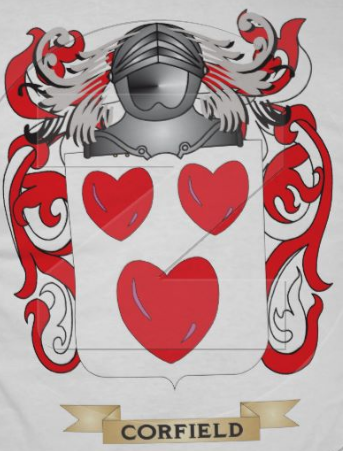 Corfield family crest