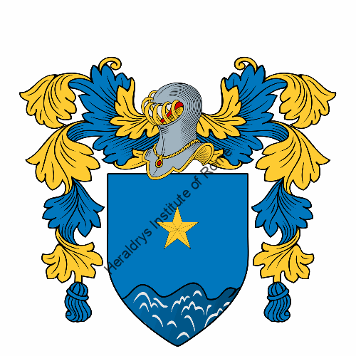 Cosenza family crest