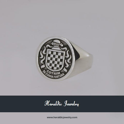 Cotrim family crest ring