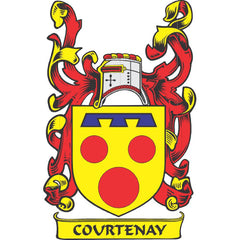 Courtenay family crest