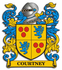 Courtney family crest