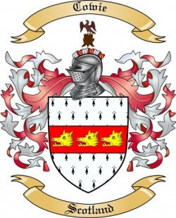 Cowie family crest