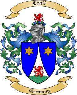 Crall family crest