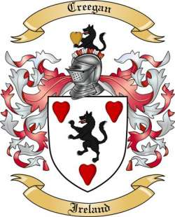 Creegan family crest
