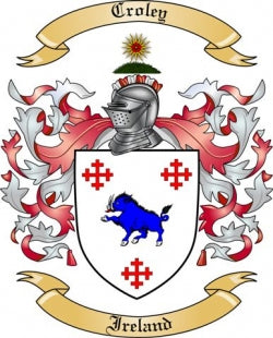 Croley family crest