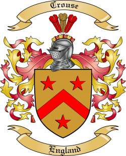 Crouse Family Crest