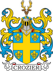 Crozier family crest
