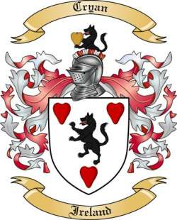 Cryan family crest