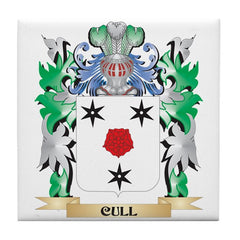Cull family crest