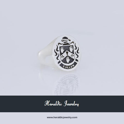 Cullen family crest ring