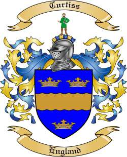 Curtiss family crest