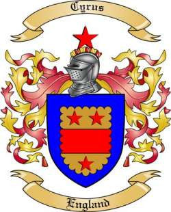 Cyrus family crest