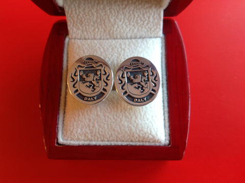 Daly family crest cufflinks