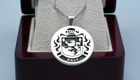 Daly family crest pendant