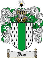 Dees family crest