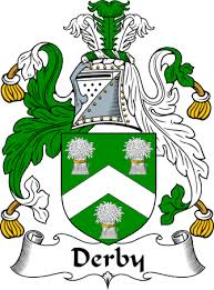 Derby Family Crest