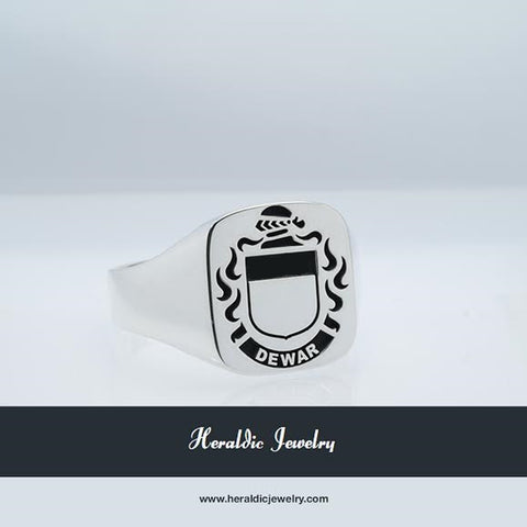 Dewar family crest ring