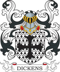 Dickens family crest