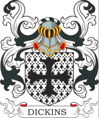 Dickins family crest