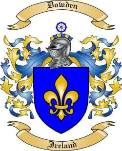 Dowden family crest