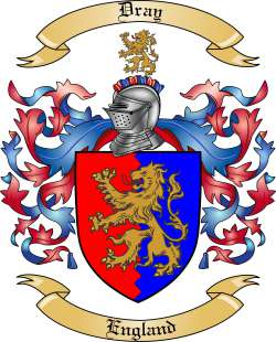 Dray family crest