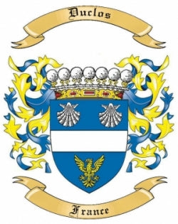 Duclos family crest