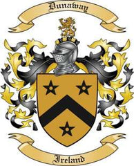 Dunaway family crest