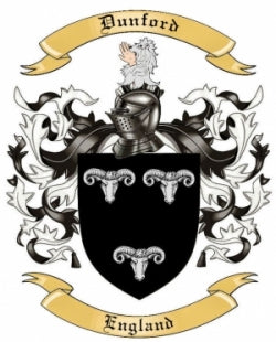 Dunford family crest