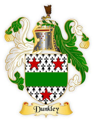 Dunkley family crest