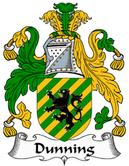 Dunning family crest